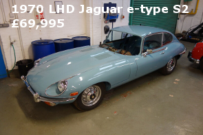 1970 SERIES 2 E-TYPE JAGUAR 2+2